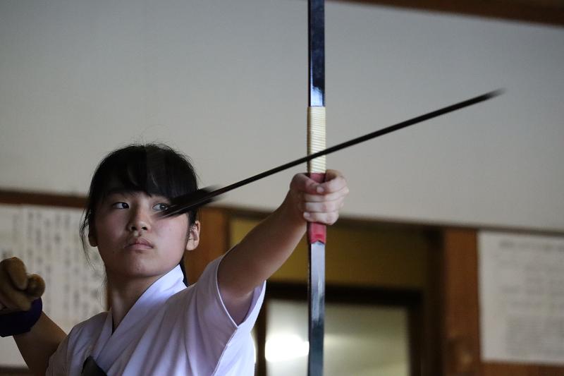 静岡高校写真部 森田結衣さん 「魂を矢に」